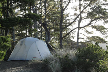 BigFoot tent on the coast of Oregon