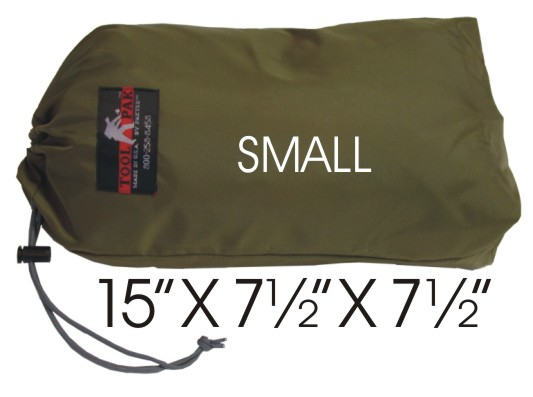 Small StuffBag with measurements